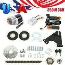 350W 36V Brush Motor Electric Bicycle Conversion Kit for Common Bike US New