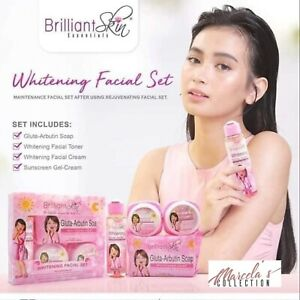 BRILLIANT SKIN Essentials Whitening Facial Set-Maintenance💯Authentic🇦🇺