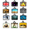 """Neoprene Laptop Sleeve Case Bag Cover Pouch For 10"""" 12"""" 13"""" 14"""" 15"""" 17"""" Notebook"""