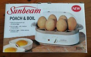 Sunbeam Poach & Boil egg cooker