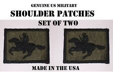 3% 3 PERCENTER PATRIOT COWBOY SHOULDER UNIT PATCH OATHKEEPER WINCHESTER LOT of 2