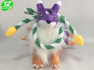 Big 30CM Digimon Adventure Youkomon Plush Stuffed Doll 12'' DAPL8030
