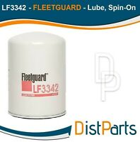 LF3342 Fleetguard Lube Filter, Replaces Caterpillar (1R-0713)
