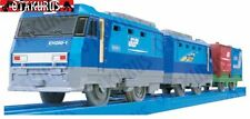 PLA-RAIL S-52 EH200 Blue Thunder Train By Tomy Trackmaster Japan