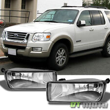 2006-2010 Ford Explorer 07-10 Sport Trac Bumper Fog Lights +Bulbs Left+Right
