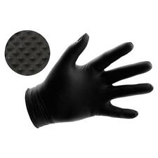 100 zoomvalue Black Nitrile 5 mil No Powder Gloves Clean Latex Vinyl Free Small