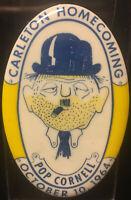 Rare Carleton College Knights Northfield, MN October 10, 1964 Homecoming Pinback