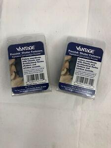 Vantage Presslok Shutter Fasteners Green 12 Pack. LOT OF 2 PACKS