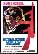 LA LEGGE DEL MITRA MANIFESTO CINEMA BRONSON CORMAN GANGSTER 1958 MOVIE POSTER 4F