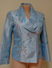 New stunning embroidered jacket quality size M/14 top long sleeve NWT