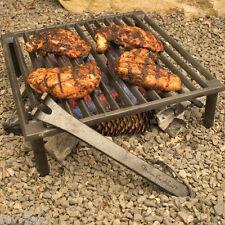 Tuscan BBQ Grill Steven Raichlen Solid Cast Iron Grill Portable BBQ Grill