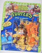 1992 TMNT Sewer Spittin SPIKE 'N VOLLEY DON Teenage Mutant Ninja Turtles MOC HTF