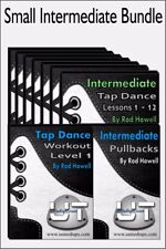 Small Intermediate Tap Dance Bundle - Lessons, Workout, Pullbacks Video