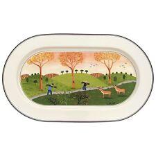 Design Naif, Piatto Ovale 34 cm, Porcellana, Villeroy & Boch
