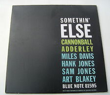 CANNONBALL ADDERLEY . SOMETHIN' ELSE . REISSUE 2011. LP
