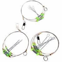 Fishing Anti-winding Leader String Swivel Hooks Sea Fishing Hook Steel Rigs Wire