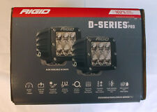 Rigid 502313 D-Series Dually D2 Offroad Driving LED Light Pair of 2