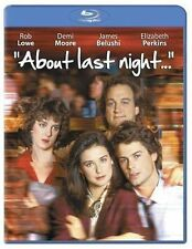 About Last Night... (Blu-ray Disc) Rare OOP New - Free Ship