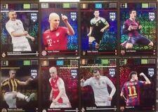 lot 12 panini  adrenalyn XXl fifa 365  Italian limited edition + 1 Messi limited