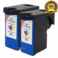 2x Color Ink For Lexmark #24(18C1524) X3430 X3530 X3550 X3552 X5632 X5544 X2448