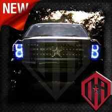 07-13 Chevy Silverado Remote Control Color Change LED Halo 4 PC Headlight Kit