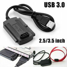 "USB 3.0 To SATA/IDE 2.5""3.5"" External Adapter Transfer Cable Converter For HDD"