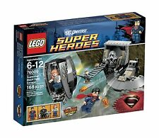 NUOVO Con Scatola LEGO SUPER HEROES 76009 SUPERMAN Nero Escape in pensione Super Zero Uomo Set