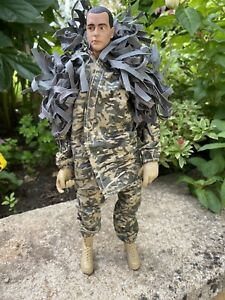 HM Armed Forces Military Sniper With Moving Eyes Action Figure