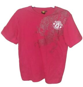 Manchester United Red T Shirt Official Merchandise Size Small
