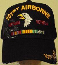 U.S. ARMY 101ST AIRBORNE ABN DIVISION DIV VIETNAM VIET NAM VETERAN VET CAP HAT