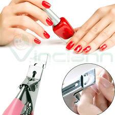 Pinza tronchesina cutter taglia tip tips ricostruzione unghie finte nail art gel