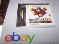 InstallShield 5.5 Professional Alpha Version CD 111-12004 0998
