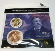 2015 Dwight Eisenhower Presidential $1 Coin /&1st Spouse Medal Set