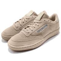 Reebok Club C 85 SG Sand Stone Beige Suede Seasonal Gum Men Casual Shoes BS7891