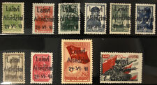 GERMAN Occupation Of LITHUANIA Alsedschen Mi 1 - 10 Mint Never Hinged Set YD46