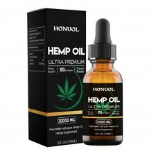 Hemp Oil Ultra Premium 100% Organic 10000 MG Anti-Anxiety Stress Pain Reduction