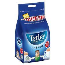 Tetley TEABAGS, 1100 TEA BAGS 1 tazza di dimensioni, tè nero, 2,5 kg, dimensioni del catering, BULK