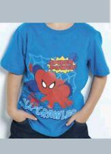 official Spiderman superhero wall crawler boys girls t shirt. age 18/24 months