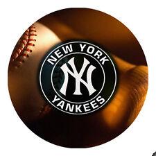 New York Yankees Baseball Round Mousepad Mouse Pad Great Gift Idea RMP2018