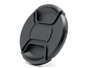 67mm Universal Front Lens Cap Centre Pinch Snap-on for all Lenses - UK STOCK