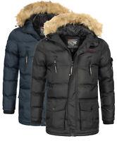 Parka imbottito Giubbotto Bravici Geographical Norway Giacca Jacket Uomo Men