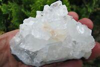 Apophyllite Raw crystal A Grade Cluster healing natural Crown chakra 154.4g