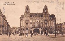AK Frankfurt am Main gel. 1911 Albert-Schumann-Theater