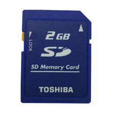 Toshiba 2GB SD Secure Digital Memory Card SD-M02G Class4 Standard Camera Genuine