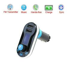 Car Kit Wireless Bluetooth FM Transmitter Radio MP3 Music Player 2 USB Port UK