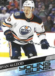 20-21 2020-21 Upper Deck Ryan McLeod ROOKIE Young Guns #231-Oilers