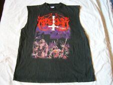 MARDUK – very rare old original 1996 HEAVEN SHALL… T-Shirt!! black metal