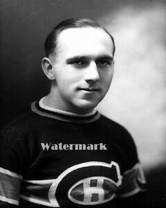 1920's NHL Young Howie Morenz Montreal Canadiens Black & White 8 X 10 Photo Pic