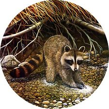 Raccoon Spare Tire Cover Fits jeep, rv, bus, campers, trailers backup camera cut