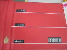 22122 RFT Katalog Mappe 1976 Heim Super Reise Super 26 Prospekte DDR selten